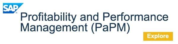 SAP Profitability and Performance Management, PaPM Software